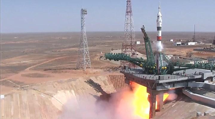 Gagarin'in ilk uçuşunun yıl dönümünde: Soyuz MS-18 uzaya fırlatıldı