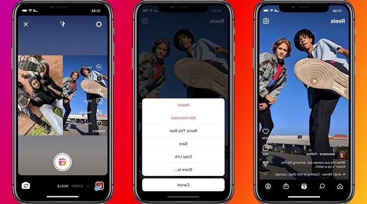 Instagram Reels için yeni özelliğini duyurdu: Remix